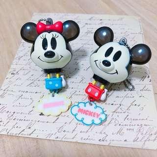 正版絕版 扭蛋玩具 迪士尼 Disney | 米奇 Mickey | 米妮 Minnie