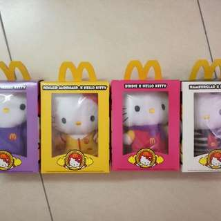 2013 McDonald's X Hello Kitty Soft Toys