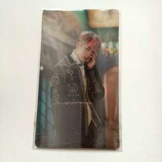 (FOUND) (WTT) Jin Lenticular Wings Concept Book
