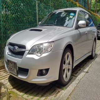 Subaru Legacy GT for long term rent