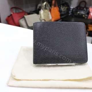 Louis Vuitton Ardoise Tiaga Wallet Slender ID Wallet