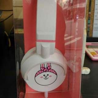 🚚 熊大兔兔耳機(贈品轉售)