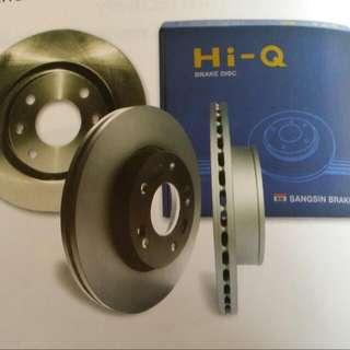 Toyota Axio NZE141  Front Disc Rotor HI-Q, Korea (Pair)