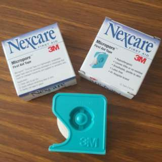 [BN] Nexcare 3M micropore first aid tape