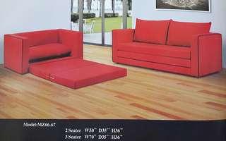 ansuran bulanan murah sofa set 1+2+3 model - 6666