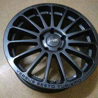 Versus Sesto Turismo RAYS Rims  17inch