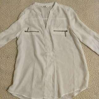 🚚 氣質雪紡衫