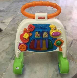 Fisher Price Push Walker with music