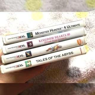 3 plus 1 !!! Nintendo 3ds