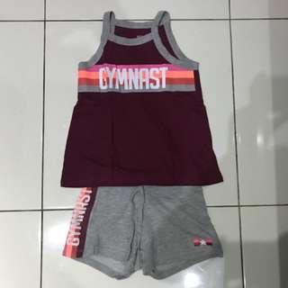 Set Baju dan Celana Anak Perempuan