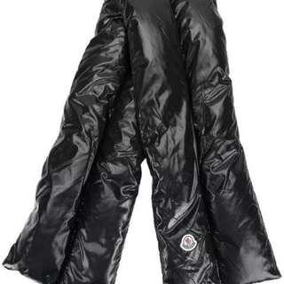Moncler羽絨頸巾 全新 $980
