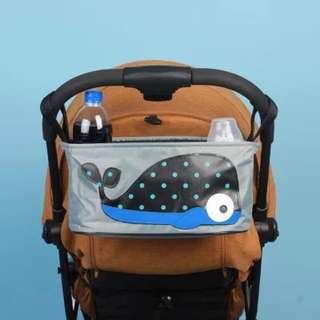 🌈(Ready Stock)🆕Brand New Baby Stroller / Pram / Baby Cot Organizer Storage Bag