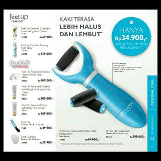 (Feet Up CONFORT & ADVANCED) ORIFLAME Katalog Februari 2018