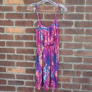 Fuschia summer dress