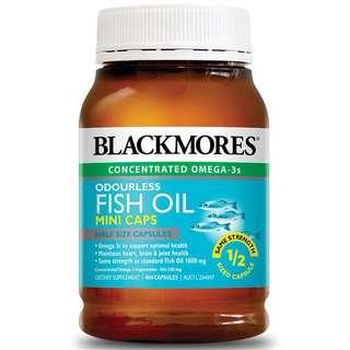 Blackmores Fish Oil mini caps 400pcs