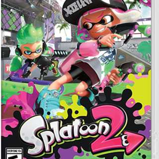 Splatoon 2 噴漆少女 2 for (Eng Version / 英文版) Nintendo Switch NSW-0098