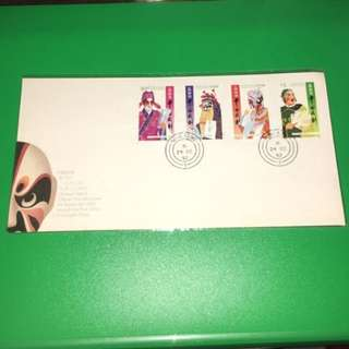 1992 中國戲劇 首日封 Stamps 集郵 郵票