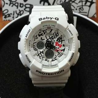 Casio BABY-G x HELLO KITTY Sanrio Limited Edition BA120KT-7A
