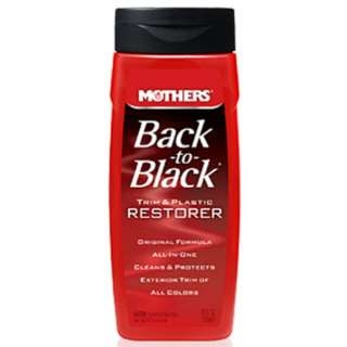 Mothers Back-to-Black Trim & Plastic Restorer 355mL