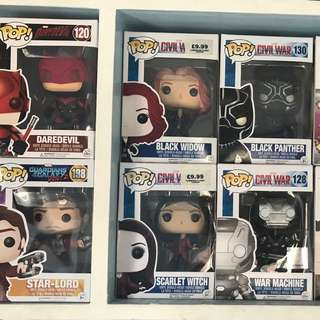 Marvel pop for sale