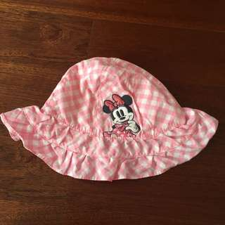 Disney baby minnie mouse hat 0-6bln