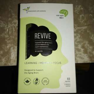 NEW Senescene Revive Daily Brain Health Supplement *for age 45+