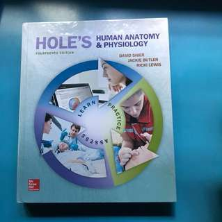 Hole's Human Anatomy and Physiology 14th edition