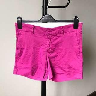 Magenta shorts