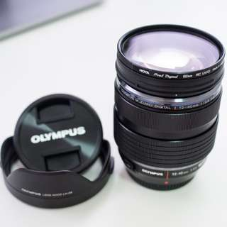 Olympus 12-40mm f/2.8 Pro M.Zuiko + Hoya Pro1D Filter