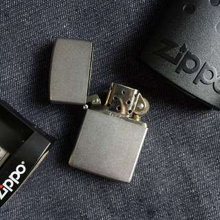 Made In USA Brushed Stainless Steel Zippo Lighter