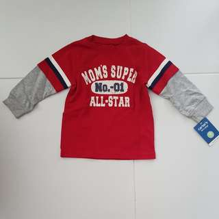 (2nd item 30% off) Carters Kids Long Sleeve Tee
