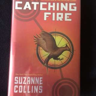 The Hunger Games: Catching Fire by Suzanne Collins(Hardbound)