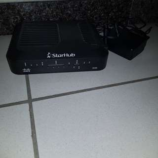 Cisco Modem and Wireless Router