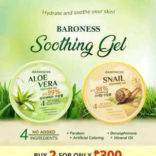 Baroness Soothing Gel - Aloe Vera & Snail