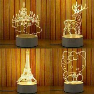 3D lampshade