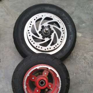 Escooter Spare Tyre