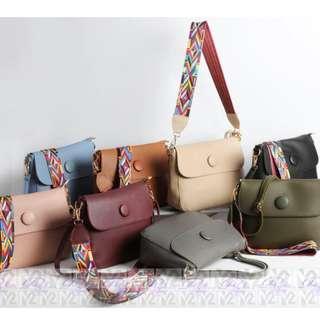 PhoebesXM2 2 in 1 Big space Handbag with sling bag MHR0559