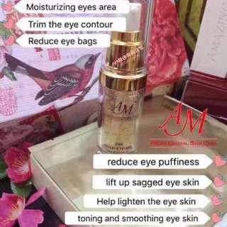 AM 24k gold eye gel