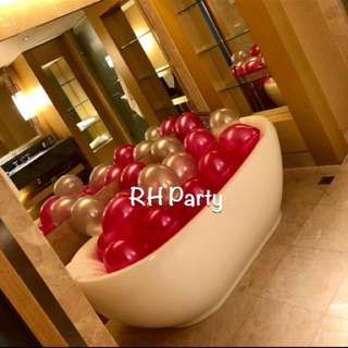 (3/2) Deflated Metallic Latex 12 inch Balloons ( Of Helium Quality ) Mix And Match Assorted Colours
