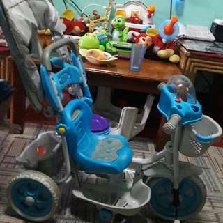 Kids push bike