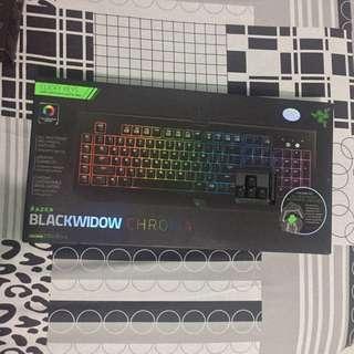 Blackwidow Chroma Keyboard