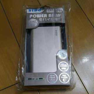 SIDO POWER BANK 2 input 充電器