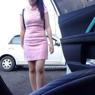 Nichi Pink Cheongsam