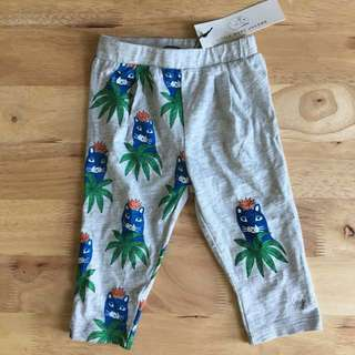 BNWT little Marc Jacobs Junior Printed Long Pants, 12 month