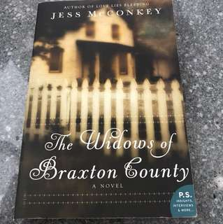 The Widows Of Braxton County - A Novel By Jess McConkey (Special one day offer!)