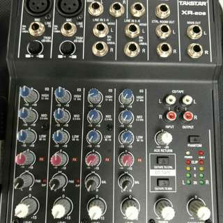 TAKSTAR XR-208 Mixing Console Price reduced.