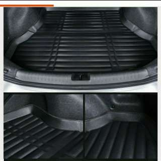 Honda city 2008 onwards till current waterproof boot mat