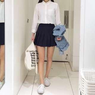 Tennis Skirt Black (korean brand- american apparel dupe)