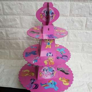 MLP My Little Pony Cupcake Muffin Stand