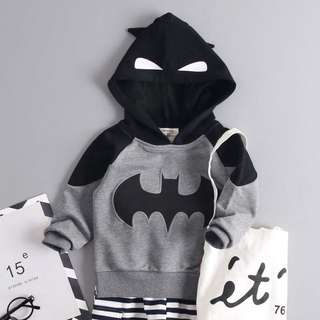 Little Kids Batman Jacket - 3R2